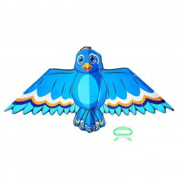 Воздушный змей птичка с леской