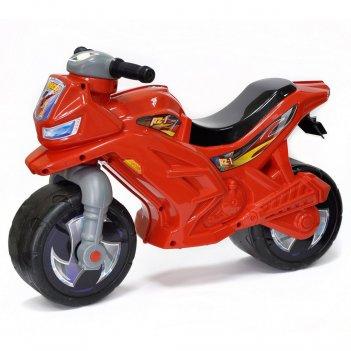 Ор501 каталка-мотоцикл беговел racer rz 1 цвет красный