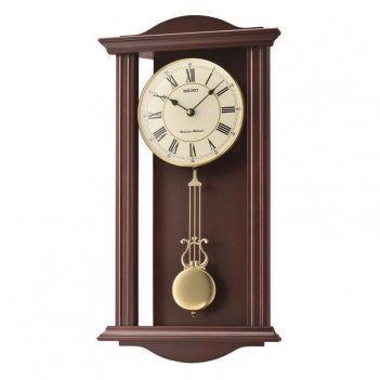 Настенные часы seiko qxh072bn с боем и маятником