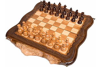 Шахматы + нарды резные арарат 50, ohanyan
