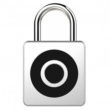 Умный замок digma smartlock c1, навесной, разбл.отпеч.пальца, 100мач, цвет
