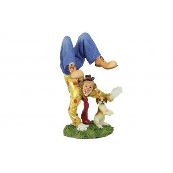 Статуэтка клоун с собачкой