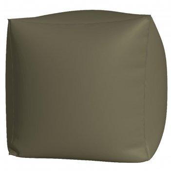 Пуфик куб макси, ткань нейлон, цвет серый