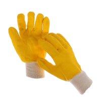Перчатки х/б нитриловым обливом цвет микс