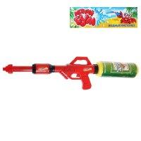 Водный пистолет бластер с балоном, цвета микс