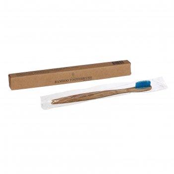 Зубная щетка для взрослых синяя