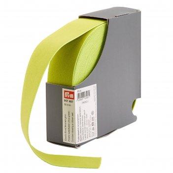 Эластичная лента-пояс 38мм*10м, цвет зеленый лимон