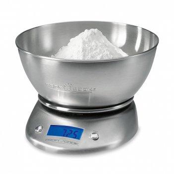 Весы кухонные pc-kw 1040 , материал: нержавеющая сталь, цвет: стальной, pc