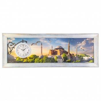 Часы настенные кварцевые 94*44 см (кор=5шт.)