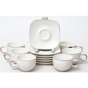 Набор кофейный грация «хама» 12 предметов