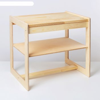 Банкетка с полочкой для прихожей, 51,5x48x34 см