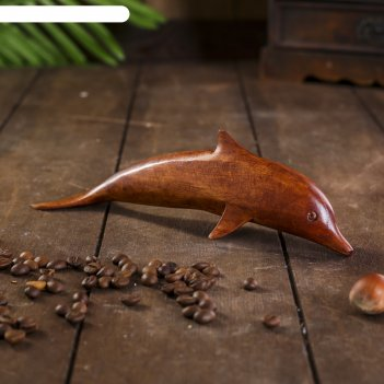 Сувенир дерево дельфин 20х5х6 см