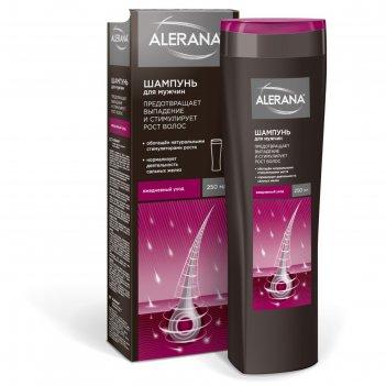 Шампунь для волос alerana «ежедневный уход», для мужчин, 250 мл