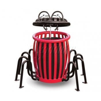 Урна для детских площадок «паук» объём: ? литров