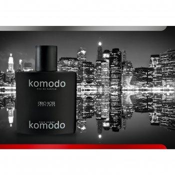 Парфюмированная вода мужская carlo bossi komodo black, 100 мл
