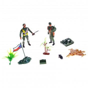 Набор солдатиков спецназ
