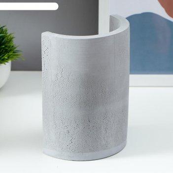 Настольная лампа 16247/1gr  е27 60вт серый 10х13,5х18 см