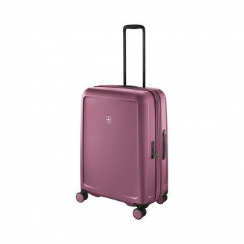 Чемодан victorinox connex, пурпурно-розовый, поликарбонат makrolon, 47x29x