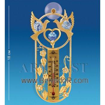 Ar-3739 термометр на липучке голуби (юнион)