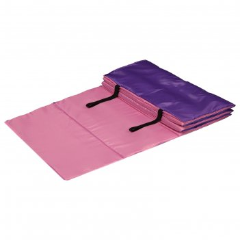 Коврик гимнастический взрослый 180 x 60 см, цвет розовый/фиолетовый