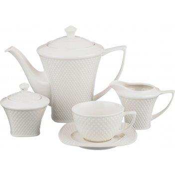 Чайный сервиз на 6 персон 15 пр.1100/250 мл.