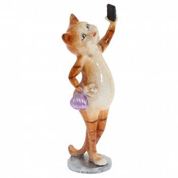 Фигурка декоративная кошка, l7,5 w6 h19,5 см