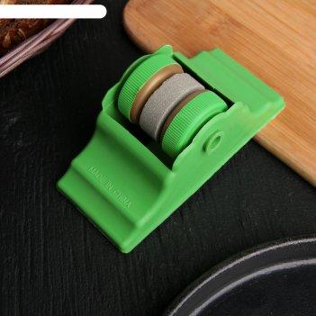Точилка для ножей двойная макси