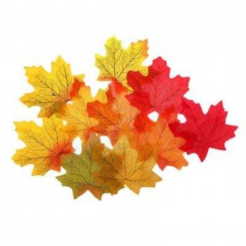 Листья кленовые10,5*1,05см, набор 500 шт.