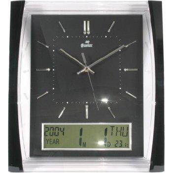 Настенные часы gastar t 539 b (пластик)