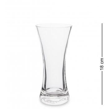 Nm-27705  ваза стеклянная 18 см (неман)