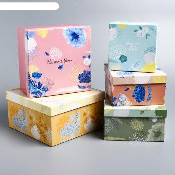 Набор коробок 5 в 1 be happy, me to you