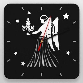 Часы со знаком зодиака дева