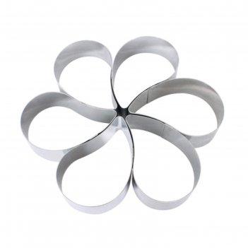 Набор для выпечки 6 предметов цветок linea easy
