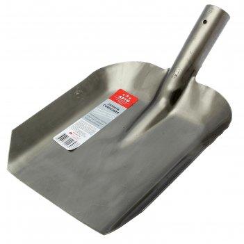 Лопата совковая, толщина 1.7 мм, тулейка 40 мм, без черенка, «копанец-лсп»