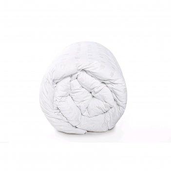 Одеяло утяжелённое с гранулами, размер 110x140 см, тик, белый