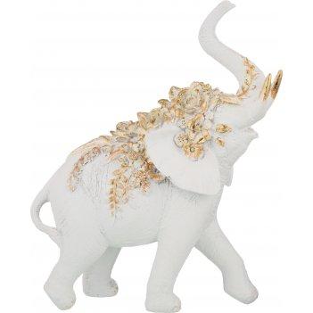 Статуэтка слон 24*11*30 см. коллекция flower fantasy (кор=6шт.)