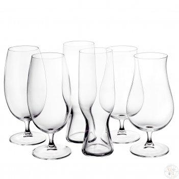 Набор бокалов для пива crystalite bohemia beer 680 мл (2 шт) 630 мл (2 шт)