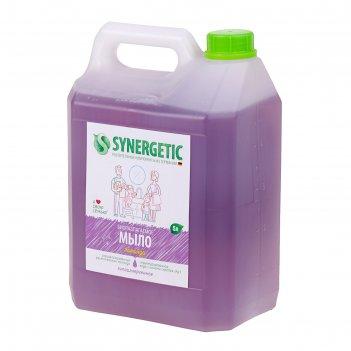 Жидкое мыло synergetic лавандовое поле, 5 л