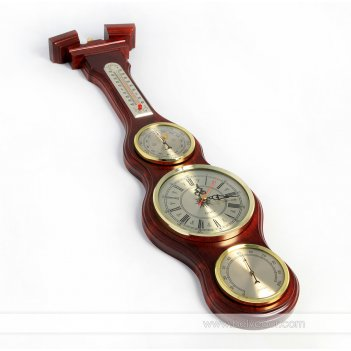 М-59 метеостанция (часы с термометром) часы барометр, гигрометр, термометр