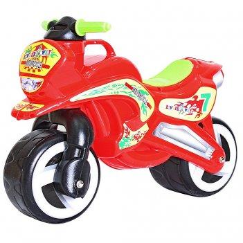 11-006 беговел motorcycle 7 красный