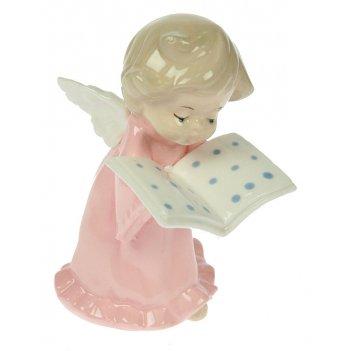 Статуэтка ангелочек, фарфор 15см