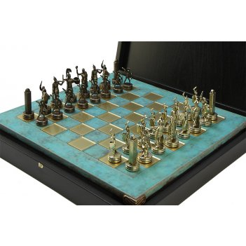 Шахматы оригинальные сувенирные  троянская война