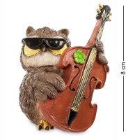 Rv-125 фигурка-сова музыкант оливер (w.stratford)