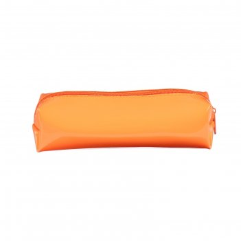 Пенал мягкий 1 отделение, объем 60 х 195 х 50, неон, к-721, оранжевый