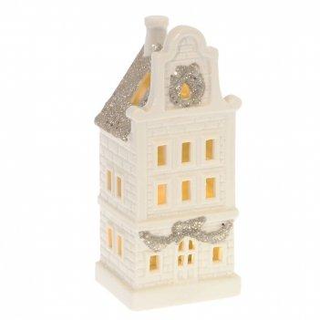 Фигурка декоративная домик с подсветкой l8,4 w7,3 h19,7 см (2хlr44, не при
