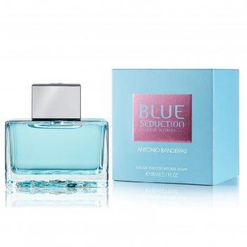Туалетная вода antonio banderas blue seduction woman, 80 мл