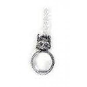 Увеличительное стекло - лупа кот