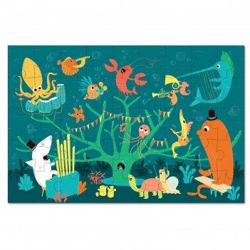 Пазл морские животные, 45 элементов