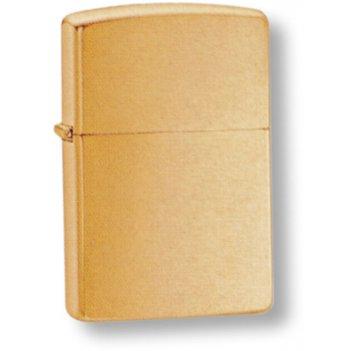 204b зажигалка brush brass plain zippo