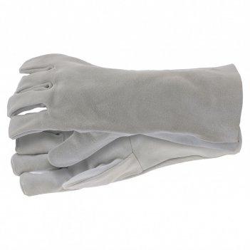 Перчатки спилковые с манжетой для садовых и строительных работ, размер xl